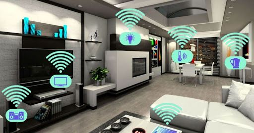 Devices connected to the home automation system.