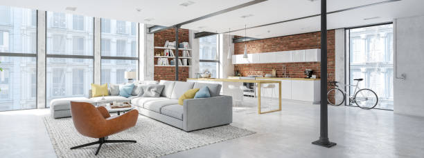 Open concept: the key to a large, integrated home