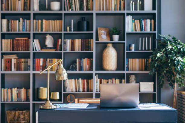 Home library: ideas for decorating and creating your own