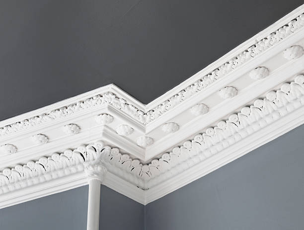 Plaster moldings: what it is, types, how to use it and tips