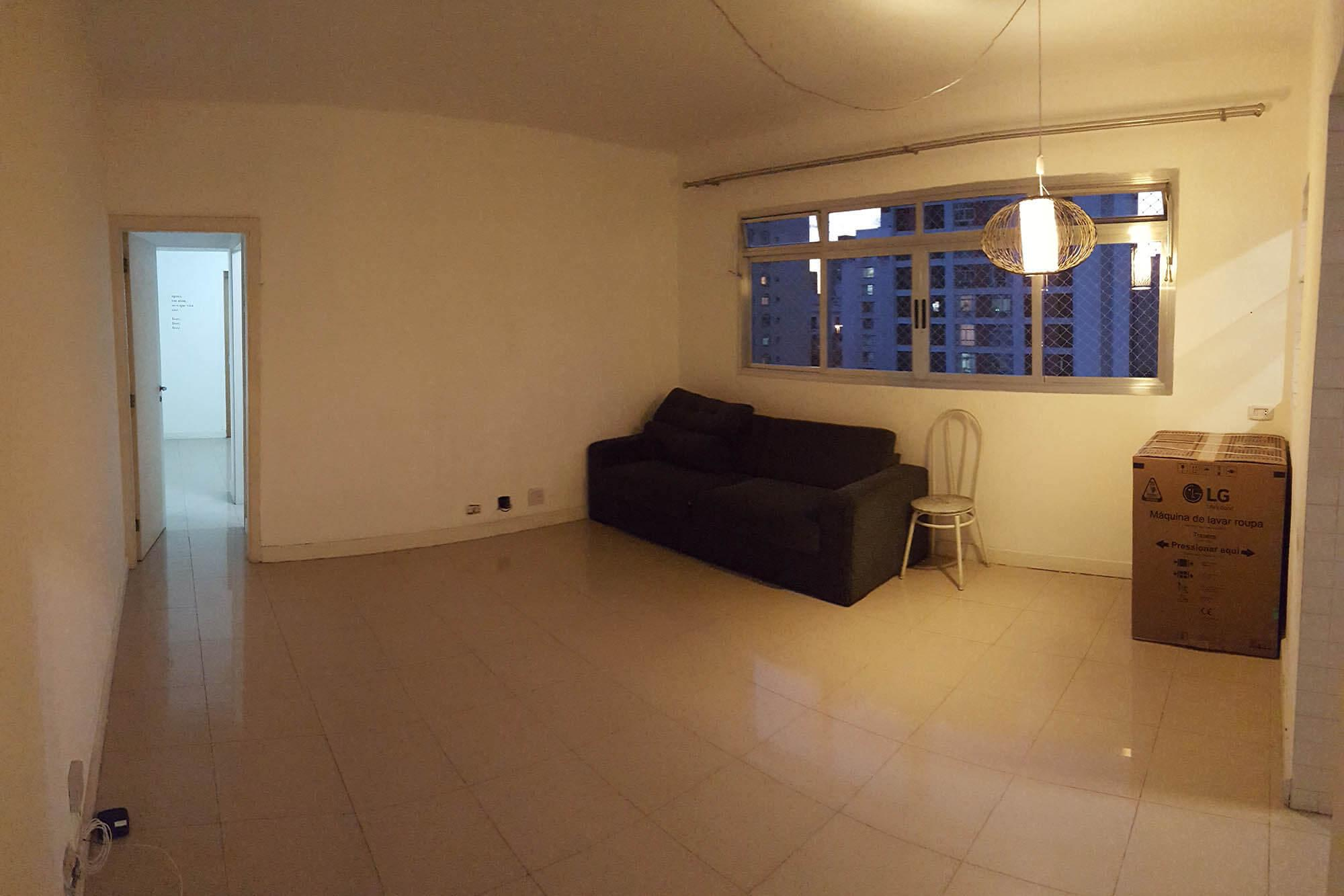 Room in the H&C apartment before the renovation, still unfurnished