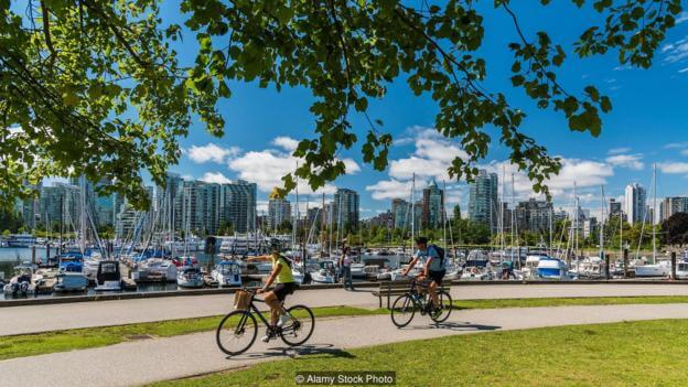 Vancouver is often considered one of the best cities to live.